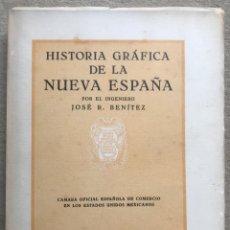 Libros antiguos: HISTORIA GRÁFICA DE LA NUEVA ESPAÑA - POR EL INGENIERO JOSÉ R. BENÍTEZ - MÉXICO - BARCELONA, 1929. Lote 261836040