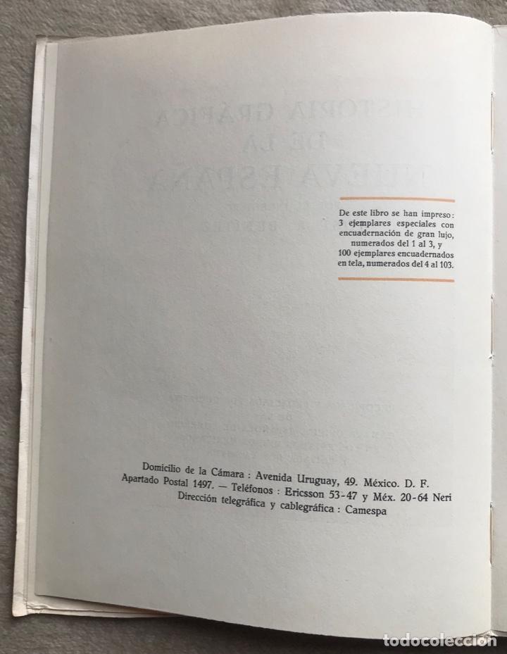 Libros antiguos: Historia Gráfica de la Nueva España - por el ingeniero José R. Benítez - México - Barcelona, 1929 - Foto 3 - 261836040