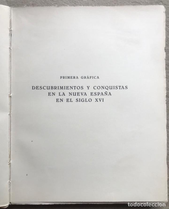 Libros antiguos: Historia Gráfica de la Nueva España - por el ingeniero José R. Benítez - México - Barcelona, 1929 - Foto 4 - 261836040