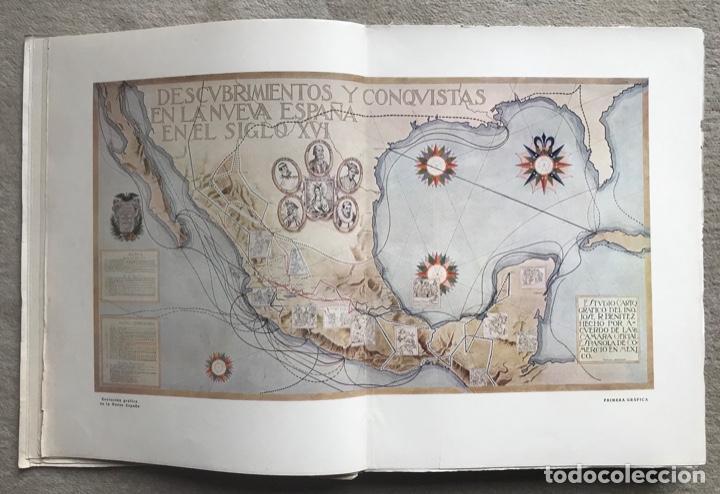 Libros antiguos: Historia Gráfica de la Nueva España - por el ingeniero José R. Benítez - México - Barcelona, 1929 - Foto 5 - 261836040