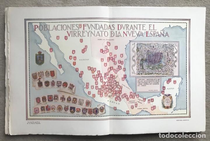 Libros antiguos: Historia Gráfica de la Nueva España - por el ingeniero José R. Benítez - México - Barcelona, 1929 - Foto 6 - 261836040