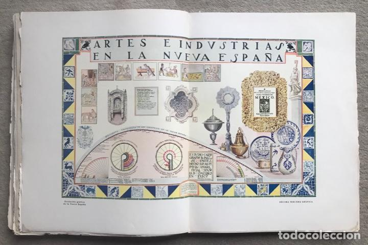 Libros antiguos: Historia Gráfica de la Nueva España - por el ingeniero José R. Benítez - México - Barcelona, 1929 - Foto 8 - 261836040