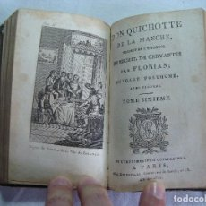 Libros antiguos: LIVRE DON QUICHOTTE DE LA MANCHE PAR FLORIAN PARIS 1802 TOME V ET VI - OUVRAGE POSTHUME. Lote 261917020