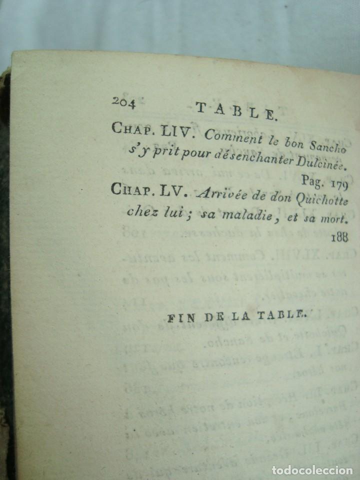 Libros antiguos: Livre Don Quichotte de la Manche par Florian Paris 1802 Tome V et VI - Ouvrage posthume - Foto 8 - 261917020