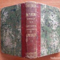 Libros antiguos: 1829 OBRAS ESCOGIDAS -PERSILES Y SIGISMUNDA (1ª PARTE)- CERVANTES ,TOMO VII -TRES GRABADOS + FRONTIS. Lote 261935140