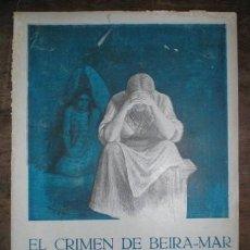 Livres anciens: CASANOVA, SOFÍA: EL CRIMEN DE BEIRA-MAR. MADRID, EL LIBRO POPULAR Nº8 1914.. Lote 261976535