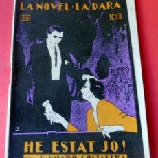 Livres anciens: LA NOVEL.LA D'ARA - Nº 47 - AÑO 1924 - HE ESTAT JO ! - J. NAVARRO COSTABELLA. Lote 261991900