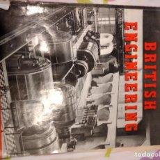 Libros antiguos: BAL-42 REVISTA BRITISH ENGINEERING 1951. Lote 262141850