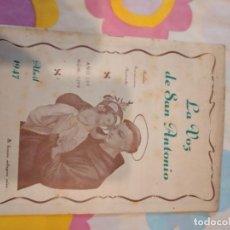 Libros antiguos: BAL-42 REVISTA LA VOZ DE SAN ANTONIO 1299. Lote 262142215