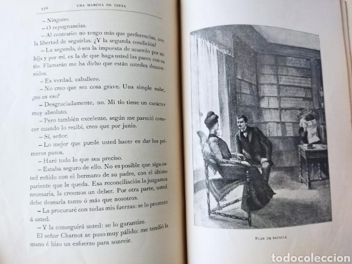 Libros antiguos: Una Mancha de Tinta .1903. Renato Bezin. - Foto 2 - 262152415