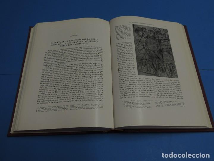 Libros antiguos: HISTORIA DE ESPAÑA.- F. SOLDEVILA (8TOMOS .OBRA COMPLETA) - Foto 6 - 262232095