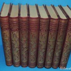 Libros antiguos: HISTORIA DE ESPAÑA.- F. SOLDEVILA (8TOMOS .OBRA COMPLETA). Lote 262232095