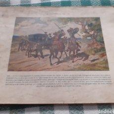 Libros antiguos: LIBRO DE DON QUIJOTE LLENO DE LÁMINAS AMTIGUAS. Lote 262341260