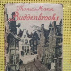 Libros antiguos: THOMAS MANN - BUDDENBROOKS - 1930 - FISCHER VERLANG. Lote 262345375