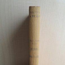 Libros antiguos: FINAL I PRELUDI. MARIA TERESA VERNET. PROA, A TOT VENT 63, PRIMERA EDICIÓN, 1933. CATALÁN.. Lote 262393260