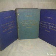 Libros antiguos: FABRICACION DE GALLETAS,HELADOS Y CHOCOLATES - AÑOS 1950 - J.BORREL MONTAGUT - ILUSTRADOS.. Lote 262428410