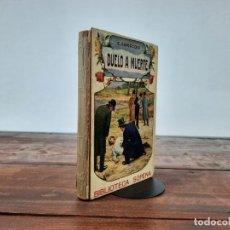 Libros antiguos: DUELO A MUERTE - EDUARDO ZAMACOIS - ED. RAMON SOPENA, NO CONSTA AÑO, BARCELONA. Lote 211830925
