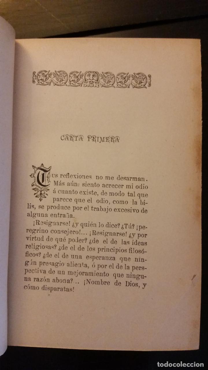 Libros antiguos: 1894 - E. GÓMEZ SEGURA - La valija rota. Colección de cartas sobre política, historia y literatura - Foto 6 - 262458705