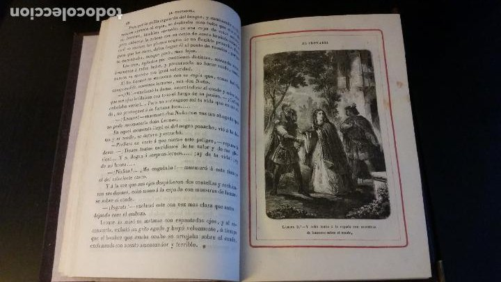 Libros antiguos: 1860 - R. ORTEGA FRÍAS - EL TROVADOR - PRIMERA ED. - Foto 4 - 262460310