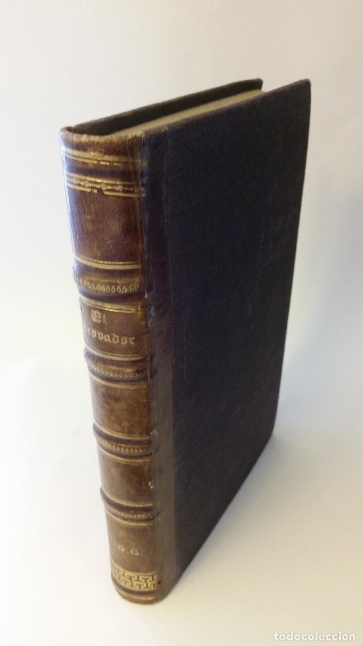 1860 - R. ORTEGA FRÍAS - EL TROVADOR - PRIMERA ED. (Libros antiguos (hasta 1936), raros y curiosos - Literatura - Narrativa - Otros)