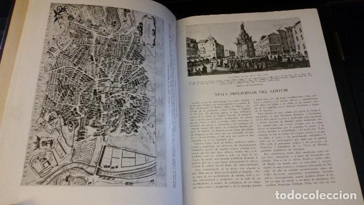 Libros antiguos: 1933 - SAINZ DE ROBLES - Historias y estampas de la Villa de Madrid - 2 TOMOS, 1ª ED. - Foto 4 - 262460440