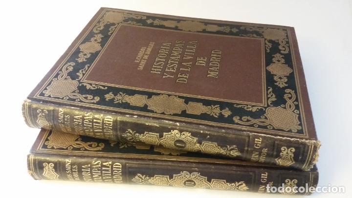1933 - SAINZ DE ROBLES - HISTORIAS Y ESTAMPAS DE LA VILLA DE MADRID - 2 TOMOS, 1ª ED. (Libros Antiguos, Raros y Curiosos - Historia - Otros)
