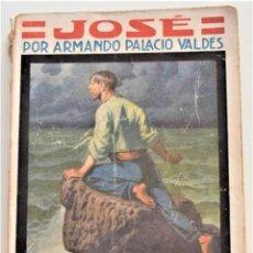 Libros antiguos: JOSÉ - ARMANDO PALACIO VALDÉS - LA NOVELA MUNDIAL Nº 93 - AÑO 1927 - ILUSTRACIONES AGUSTÍN. Lote 262460650