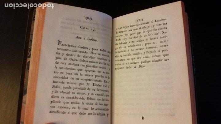 Libros antiguos: 1828 - FLORIAN - Belton ó El esposo infiel (Cartas inglesas) + El tejedor y el visir - Foto 3 - 262460655