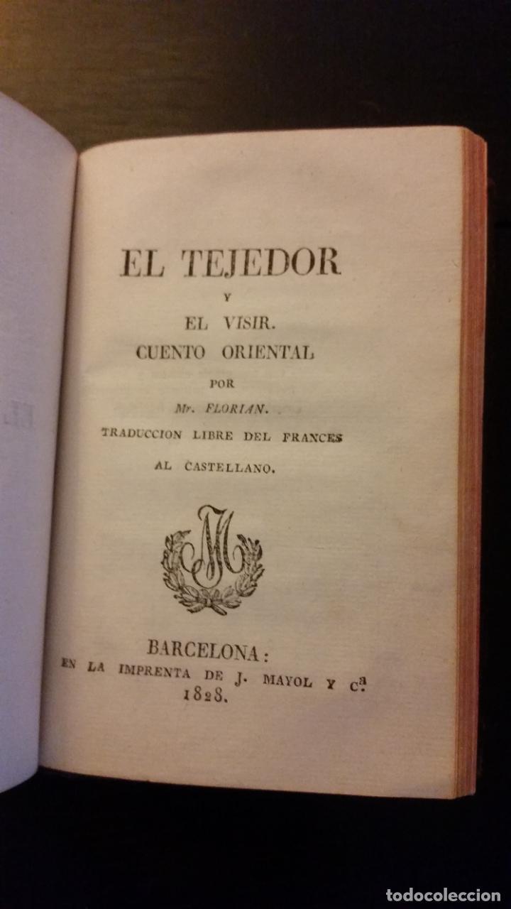 Libros antiguos: 1828 - FLORIAN - Belton ó El esposo infiel (Cartas inglesas) + El tejedor y el visir - Foto 4 - 262460655