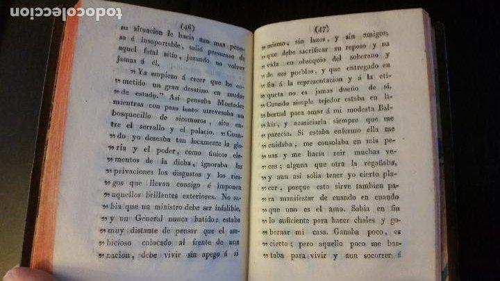 Libros antiguos: 1828 - FLORIAN - Belton ó El esposo infiel (Cartas inglesas) + El tejedor y el visir - Foto 5 - 262460655