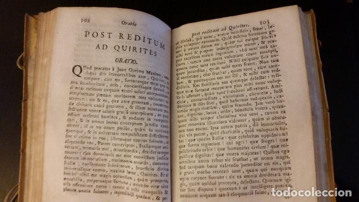 Libros antiguos: 1793 - CICERON - Selectae Marci Tullii Ciceronis Orationes, ad optima exemplaria - Foto 6 - 262461020
