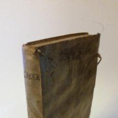 Libros antiguos: 1793 - CICERON - SELECTAE MARCI TULLII CICERONIS ORATIONES, AD OPTIMA EXEMPLARIA. Lote 262461020