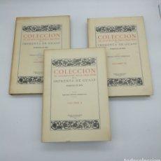 Libros antiguos: COLECCIÓN DE XILOGRAFIAS MALLORQUINAS IMPRENTA GUASP AÑO 1950 NUMERADO. Lote 262462780