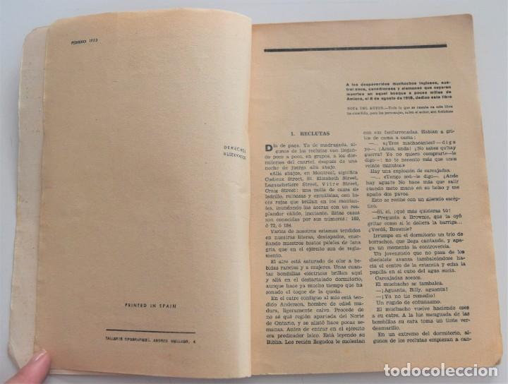 Libros antiguos: LOS GENERALES MUEREN EN LA CAMA - CHARLES YALE HARRISON - VIDA NUEVA Nº 9 - EDITORIAL FENIX 1933 - Foto 4 - 262582780