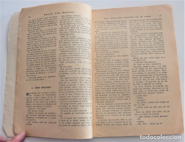 Libros antiguos: LOS GENERALES MUEREN EN LA CAMA - CHARLES YALE HARRISON - VIDA NUEVA Nº 9 - EDITORIAL FENIX 1933 - Foto 5 - 262582780