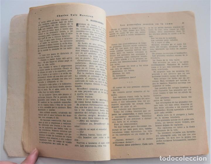 Libros antiguos: LOS GENERALES MUEREN EN LA CAMA - CHARLES YALE HARRISON - VIDA NUEVA Nº 9 - EDITORIAL FENIX 1933 - Foto 6 - 262582780