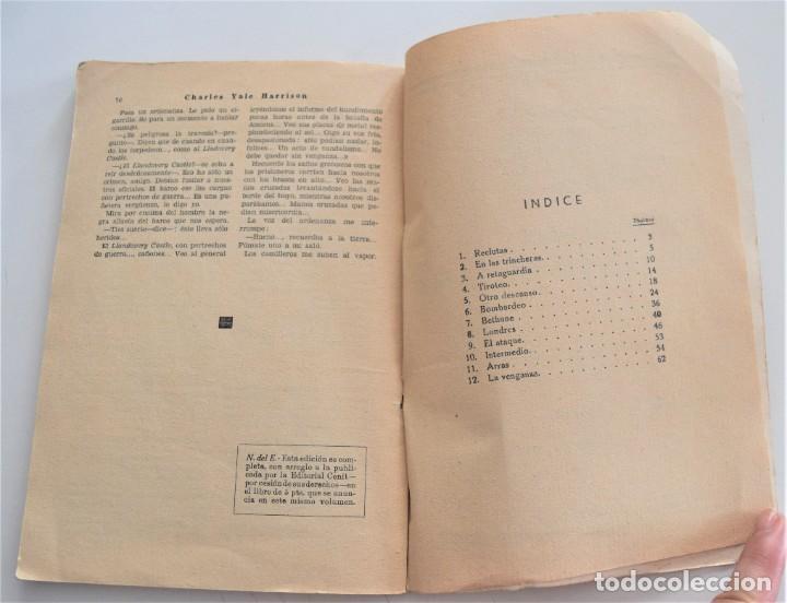 Libros antiguos: LOS GENERALES MUEREN EN LA CAMA - CHARLES YALE HARRISON - VIDA NUEVA Nº 9 - EDITORIAL FENIX 1933 - Foto 7 - 262582780