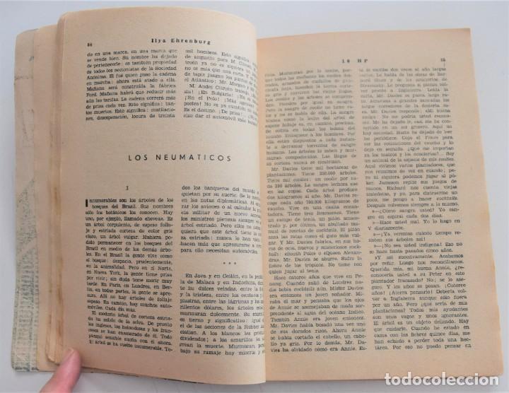 Libros antiguos: 10 HP - ILYA EHRENBURG - VIDA NUEVA Nº 3 - EDITORIAL FENIX 1932 - Foto 6 - 262583295
