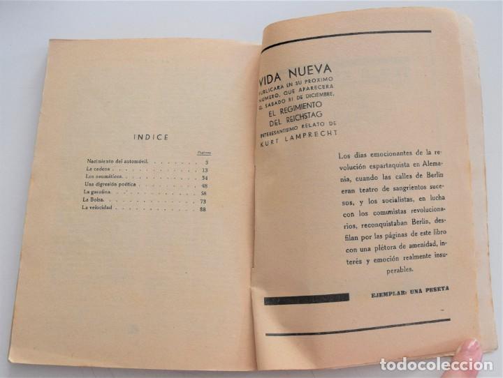 Libros antiguos: 10 HP - ILYA EHRENBURG - VIDA NUEVA Nº 3 - EDITORIAL FENIX 1932 - Foto 9 - 262583295