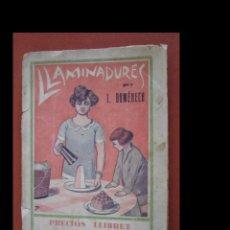Libros antiguos: LLAMINADURES. PRECIÓS LLIBRET PER A FER DOLÇOS... I. DOMÉNECH. Lote 262591255