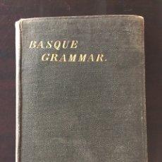 Libros antiguos: OUTLINES OF BASQUE GRAMMAR. BY W.J. VAN EYS .GRAMÁTICA VASCA. ORIGINAL DE 1883. Lote 262690430