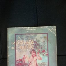 Livres anciens: LIBRITO ANTIGUO: LAS CAUSAS DE LA MUERTE, DE LOS AÑOS 20-40. Lote 262730310