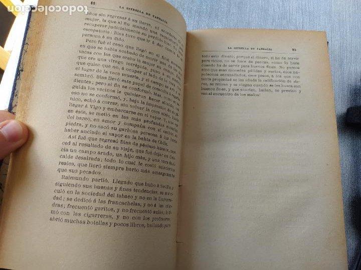 Libros antiguos: Folletin, La estrella de Vandalia, Fernan Caballero, 1908. Imprenta Barcelonesa, buen estado. - Foto 11 - 262854025