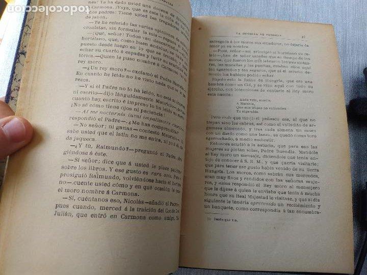 Libros antiguos: Folletin, La estrella de Vandalia, Fernan Caballero, 1908. Imprenta Barcelonesa, buen estado. - Foto 14 - 262854025