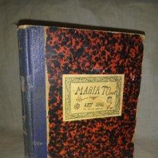Libros antiguos: ANTIGUO LIBRO DE COCINA MANUSCRITO - AÑO 1930 - INFINIDAD DE RECETAS DE EPOCA.. Lote 262856420
