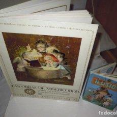 Libros antiguos: LAS OBRAS DE MISERICORDIA F. REVILLA 1968 ILUSTRADO FERRANDIZ +MINI CUENTOS, DIBUJOS MAGDA. Lote 262962550