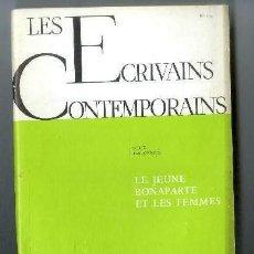 Libros antiguos: LES ÉCRIVAINS CONTEMPORAINS. Lote 262971515