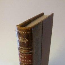 Libros antiguos: 1800 - REFLEXIONES DE CLAIRON, ACTRIZ DEL TEATRO, SOBRE EL ARTE DE LA DECLAMACIÓN. Lote 263003025