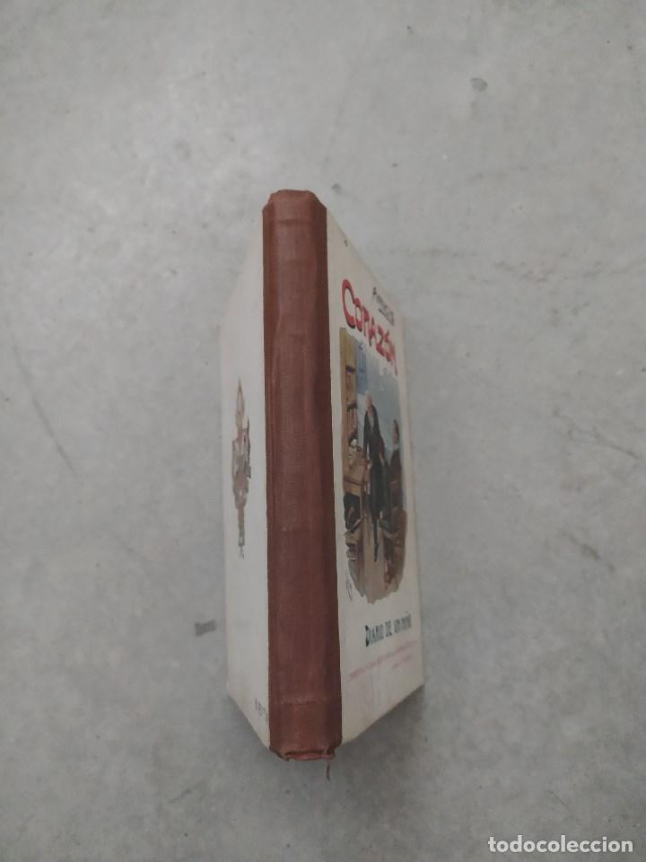 Libros antiguos: CORAZÓN. DIARIO DE UN NIÑO. EDMUNDO DE AMICIS. LIBRERÍA Y CASA EDITORIAL HERNANDO. - Foto 2 - 263103125