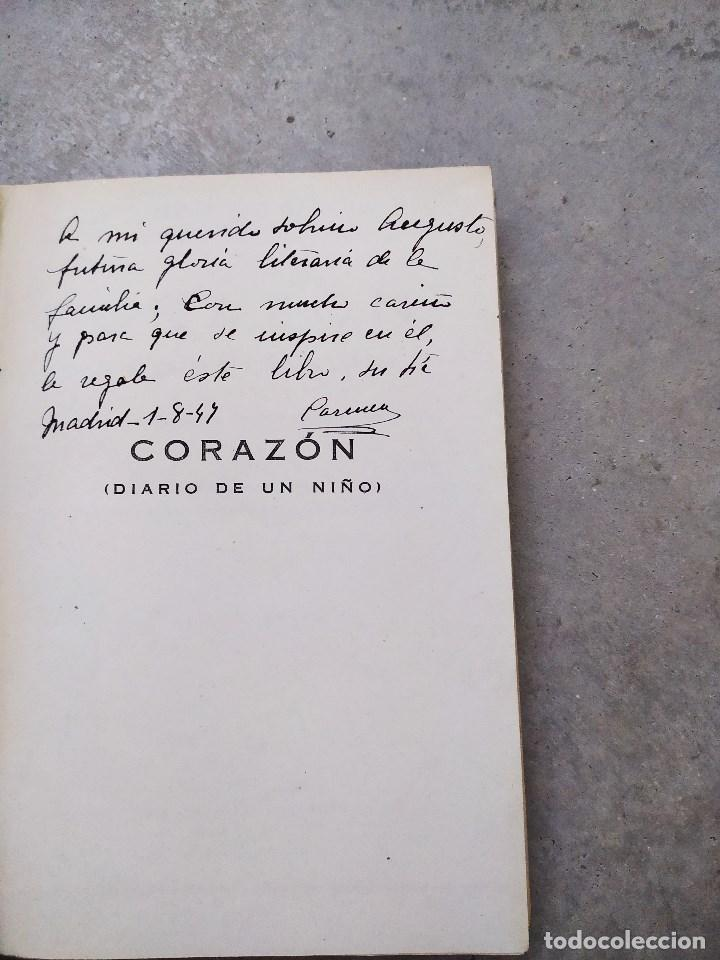 Libros antiguos: CORAZÓN. DIARIO DE UN NIÑO. EDMUNDO DE AMICIS. LIBRERÍA Y CASA EDITORIAL HERNANDO. - Foto 4 - 263103125